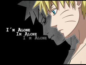 Naruto alone by diana-usumaki