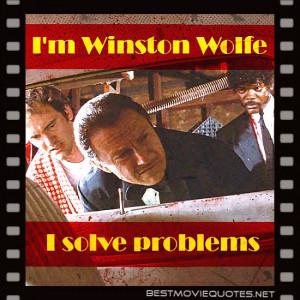 Harvey Keitel Pulp Fiction Quotes