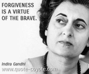 Indira Gandhi Quotes Ghandi