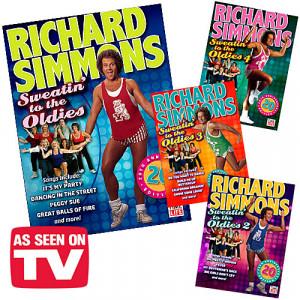 Richard Simmons DVD box set: 36% off at Amazon!