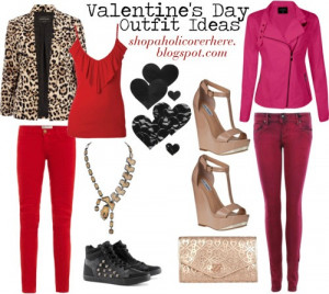 Outfit Ideas: Valentine's Day