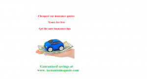 Car Insurance Quote Auto Insurance Quotes Online Cheap