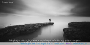 Famous Quotes About Solitude