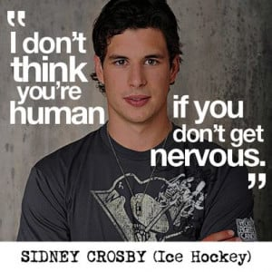 ... Canadian ice hockey legend, Sidney Crosby. Have a great week everyone