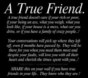... True #Friend #Quotes Will Help You Find Out Who Your Real Friends Are