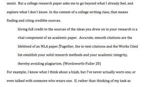 When writing an essay can I put a quote related to the essay above the essay?