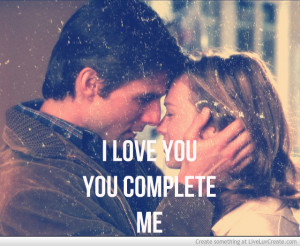 Jerry Maguire Complete Me