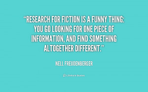Funny Quotes About Research