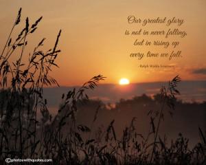 Ralph Waldo Emerson Quote - Life Quote