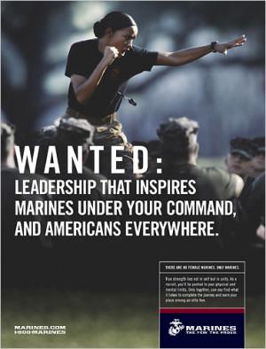 Recruiting poster, Marines.com