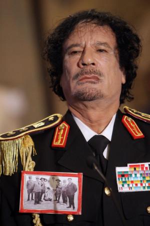 Muammar al Gaddafi Muammar Gaddafi Meets With PM Berlusconi