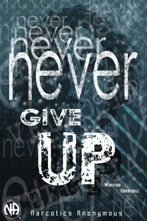 Never Give Up by Vellosia