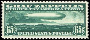 Graf Zeppelin Stamp