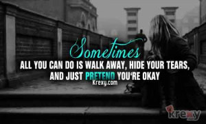 Sometimes You Need To Walk Away