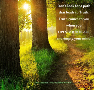 Inspirational quote: Truth Within