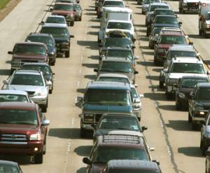 The real reason for traffic jams: us!