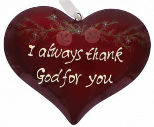 Thanks You Always Thank God For Because His Grace Given
