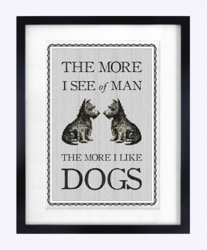 Dog Quote Poster, Dog Print, Pet Art, Poster, Art Print, Wall Art, Dog ...
