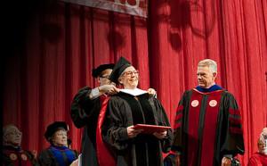 Alice Walton receives honorary degree