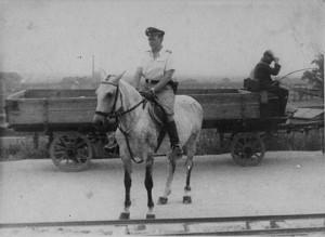 Amon Goeth, commandant of the Plaszow camp ( USHMM Photo ).