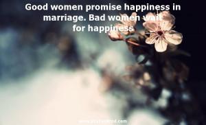 Good Women Promise Credited