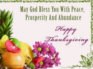 ... you with peace, prosperity and abundance