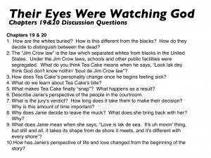 Their Eyes Were Watching God Quotes Their eyes were watching god