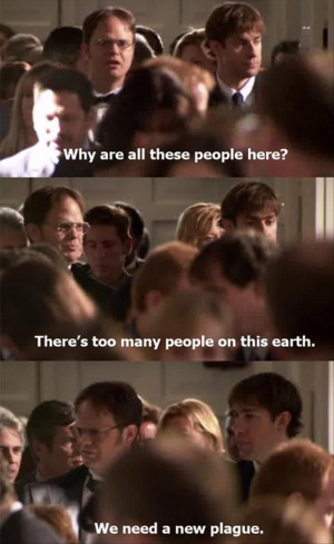 dwight, from the office, funny quotes
