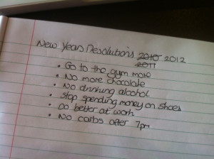Funny Ideas For New Year's Eve Resolutions