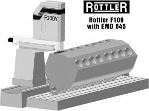 Rottler F109AH Multi Purpose CNC Machining Center