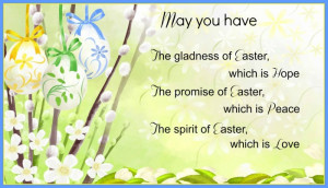 easter-saying-poem-blessing - Quotes Hunger