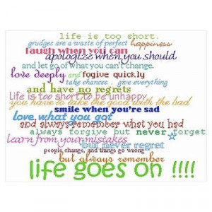 quotes life goes on :)