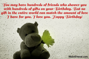 happy birthday for girlfriend quotes