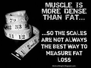 ... 5lbs of fat and 5lbs of muscle side by side the fat would look about