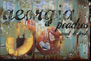 Georgia Peaches Mural - Matthew Lew| Murals Your Way