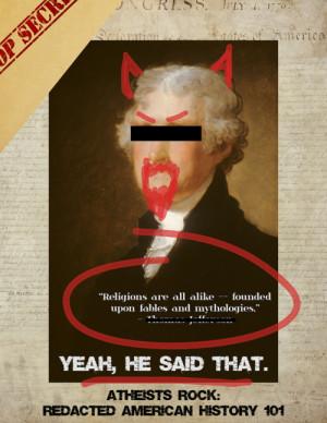 ... religion #god #founding father #america #atheism #thomas jefferson