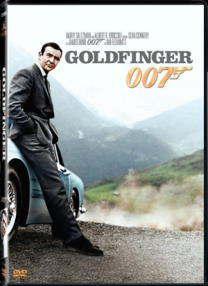 james bond goldfinger 007 r160 00 james bond goldfinger 007 dvd 1 in ...
