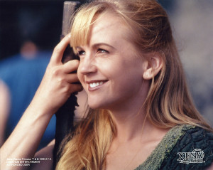 ... along with lucy lawless her xena co star renee o connor is a favorite