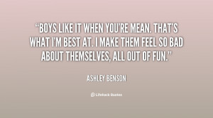 mean quotes about boys