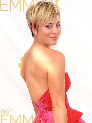 Penny Big Bang Theory New Haircut