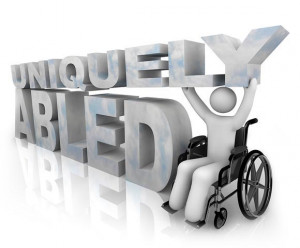 when it comes to dealing with persons with severe disabilities ...