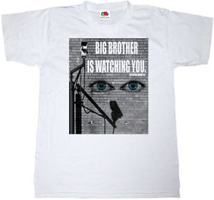 ... -BIG-BROTHER-T-SHIRT-100-COTTON-CULT-PROTEST-T-SHIRT-FAMOUS-QUOTE