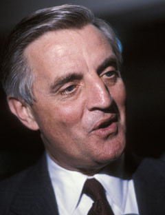 Walter Mondale, fully Walter Frederick