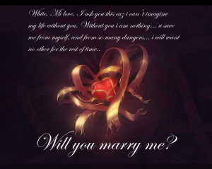 Will You Marry Me Quotes For Her