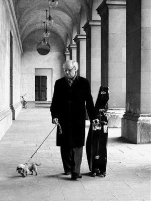 Mstislav Rostropovich, Munich by Werner Neumeister, 1976Classic Music ...