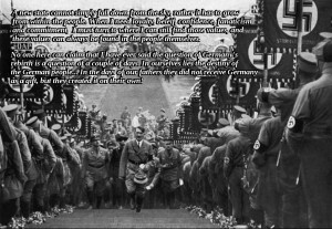 ... Hitler motivational inspirational love life quotes sayings poems