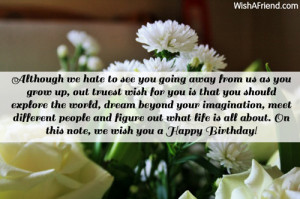 Quotes For Daughter Going Away To College ~ Daughter Birthday Messages