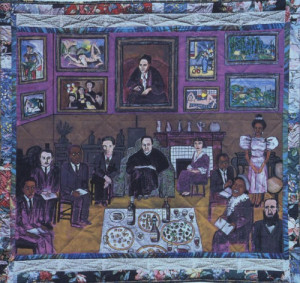 Faith Ringgold, French Collection Pt.2, No.10, Dinner At Gertrude ...