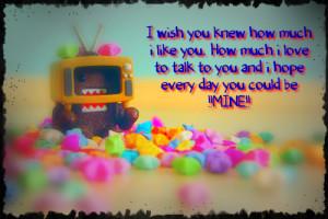 Wish You Were Mine