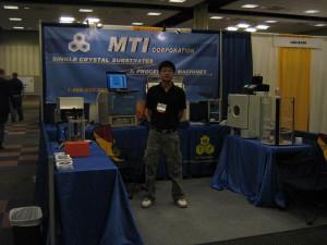 MTI Engineer at NanoTx 2008 Dr K Eric Drexler father of Nan